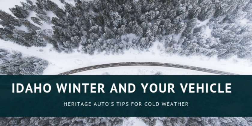 Heritage Auto's Tips for Winterizing your Vehicle